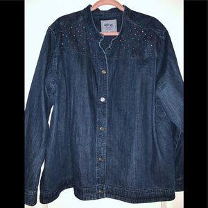 Lightweight denim jacket 3XL